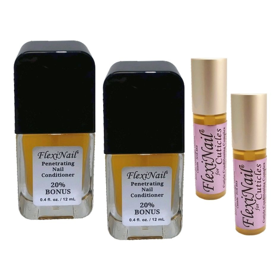 FlexiNail and FlexiNail for Cuticles Double Pack