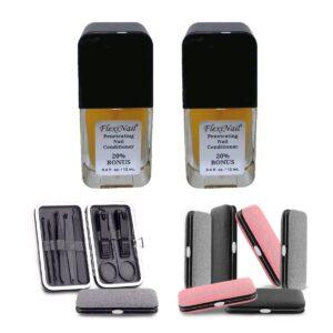 Double Bonus FlexiNail with Manicure Kit